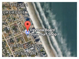 Daytona Board Store Location Map
