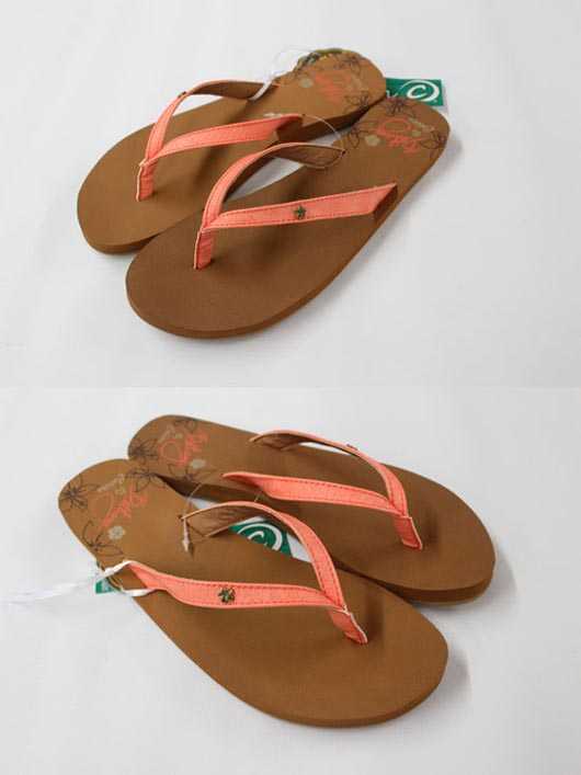 Cobian Womens Sandals Bethany Hanalei Coral