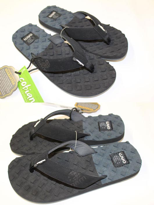 Cobian OAM Traction Mens Sandals Grey