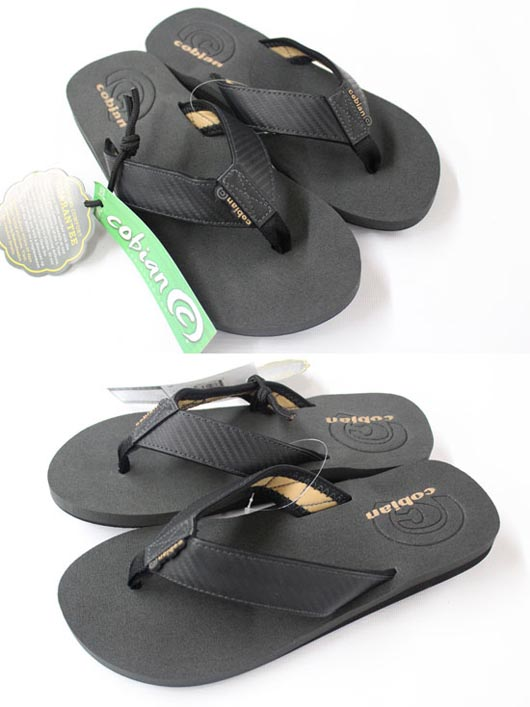Cobian Floater Mens Sandals Carbon