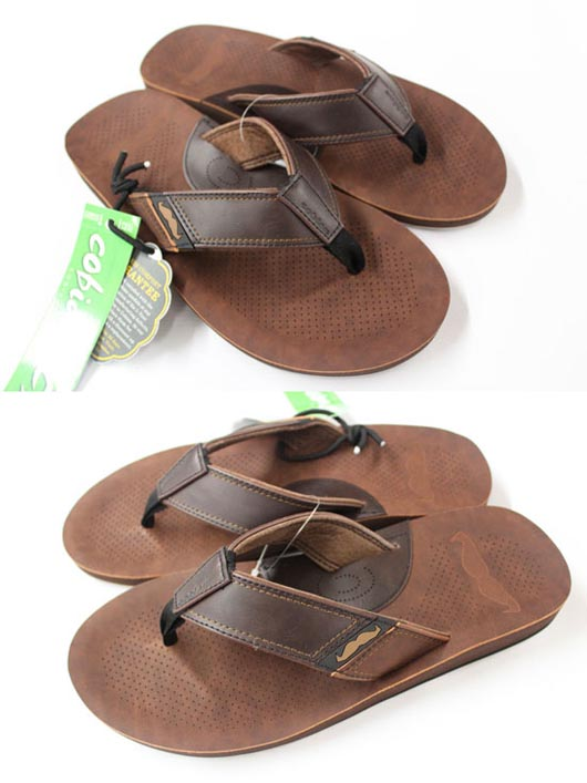 Cobian Movember Mens Sandals Brown