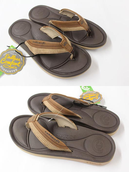 Cobian Bolster Mens Sandals Brown