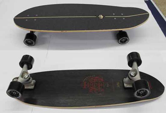 Carver Haedron No. 6 Complete Surfskate
