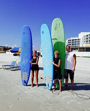 Surfboard Rentals in the Daytona Beach Area
